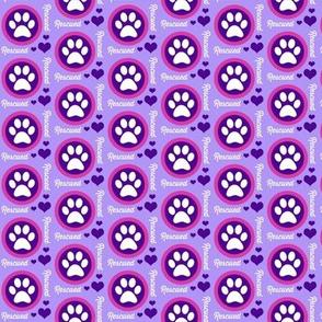 Paw Power Purple
