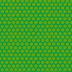 Simple hex in kelly
