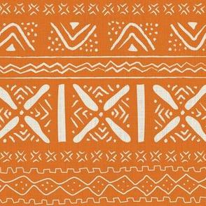 African roots in orange
