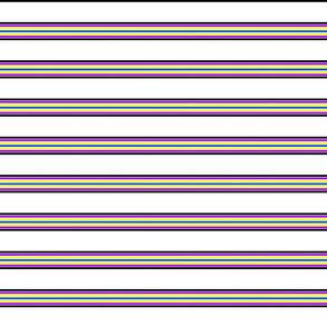 stripes with spaces