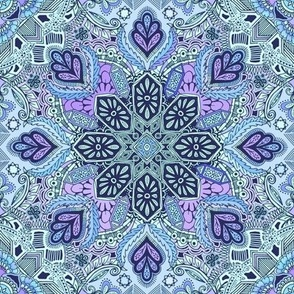 Gypsy Lace in Purple and Blue