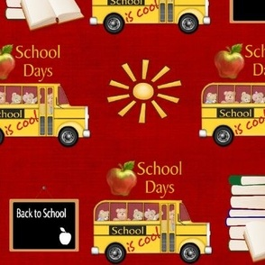 School is Cool - Red