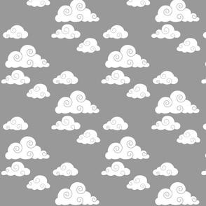 clouds // grey