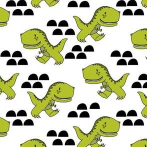 T-Rex Dinos in Green
