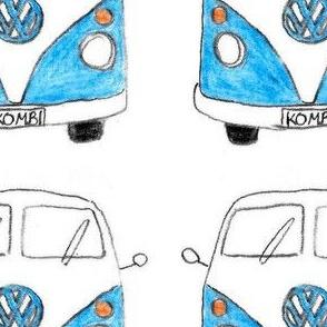 Blue Kombi