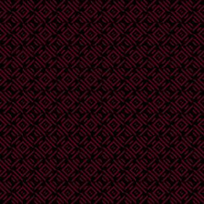 dark red maroon tribal pattern black