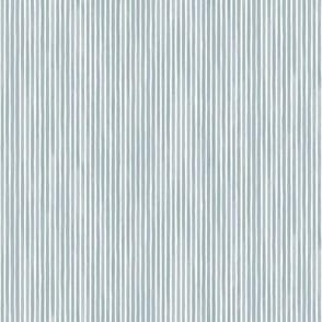 Vertical Watercolor Mini Stripes M+M Slate by Friztin