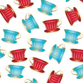In Wonderland: Teacups