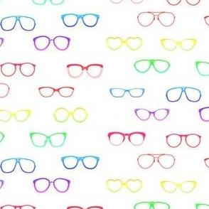 Glasses (rainbow variant)