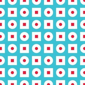 In Wonderland: Squares & Dots