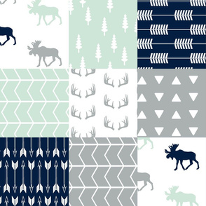 Patchwork Wholecloth Northern Lights