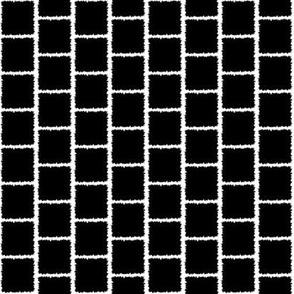 Jagged Square Black