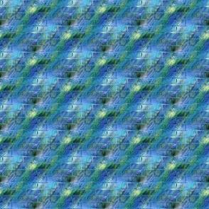 Brick Wall blue