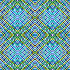 Geometric pattern. Hand drawing watercolor