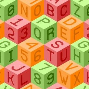 00516128 © alphanumeric cubes : boy