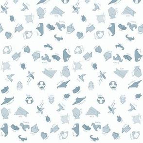 Origami Assortment (Steel blue variant)