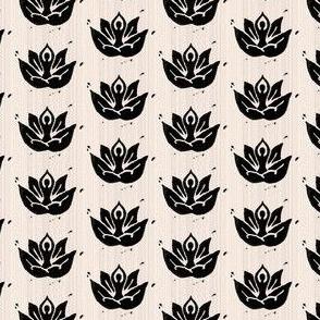 Yoga lotus beige
