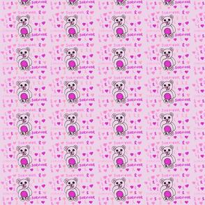 Breast Cancer Teddy-ch