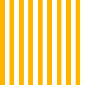 Vertical Stripes Gold : 1 inch wide