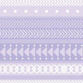 Lavender Tribal Geometric