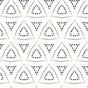Simple stitched triangles