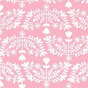 Folk Pattern Pink