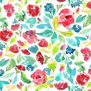 Loose Watercolor Florals