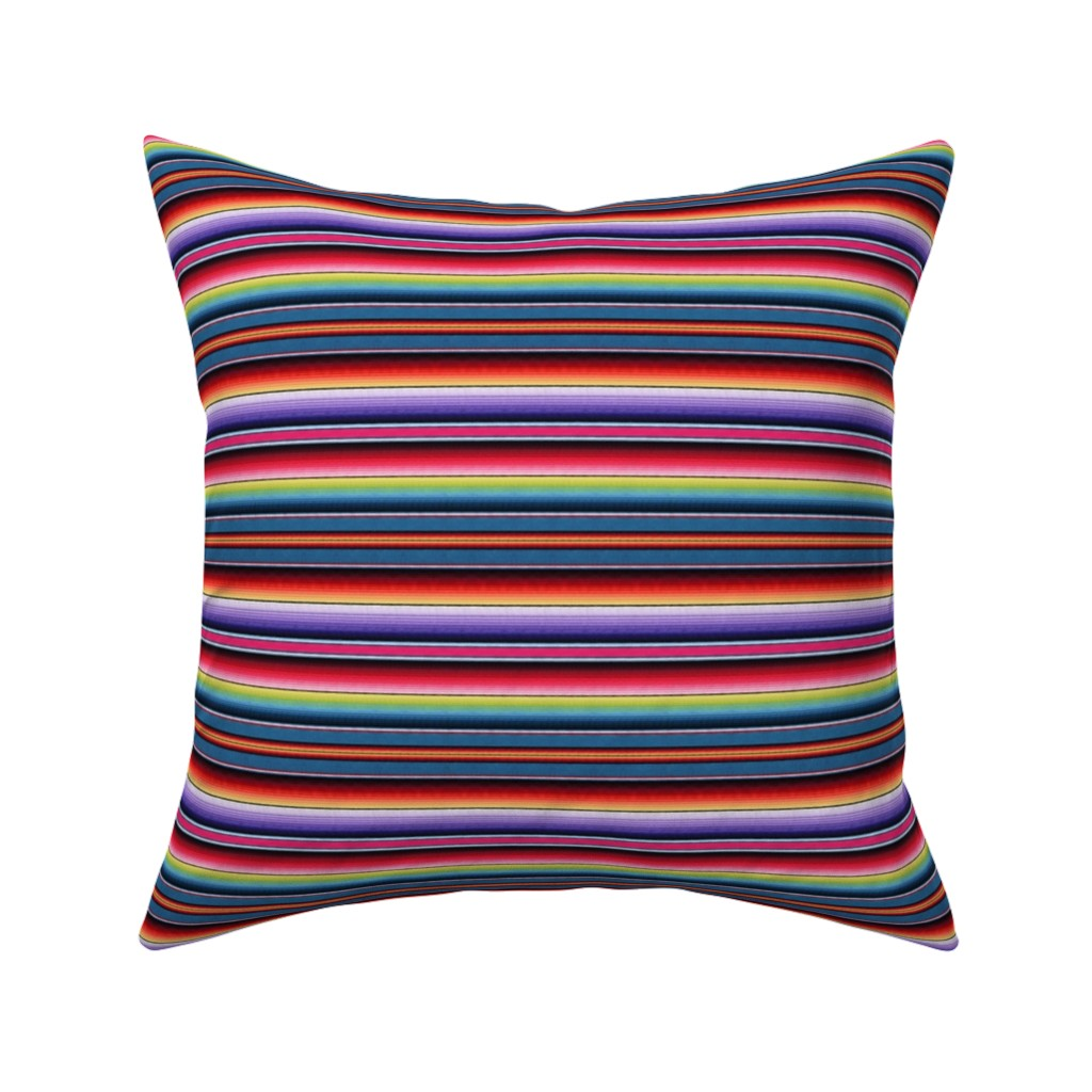 Catalan Throw Pillow featuring Zia NM by sewingpatternbee