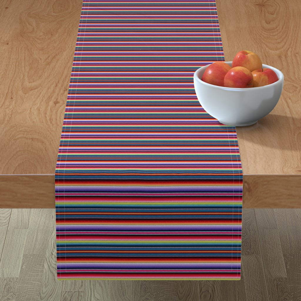 Minorca Table Runner featuring Zia NM by sewingpatternbee