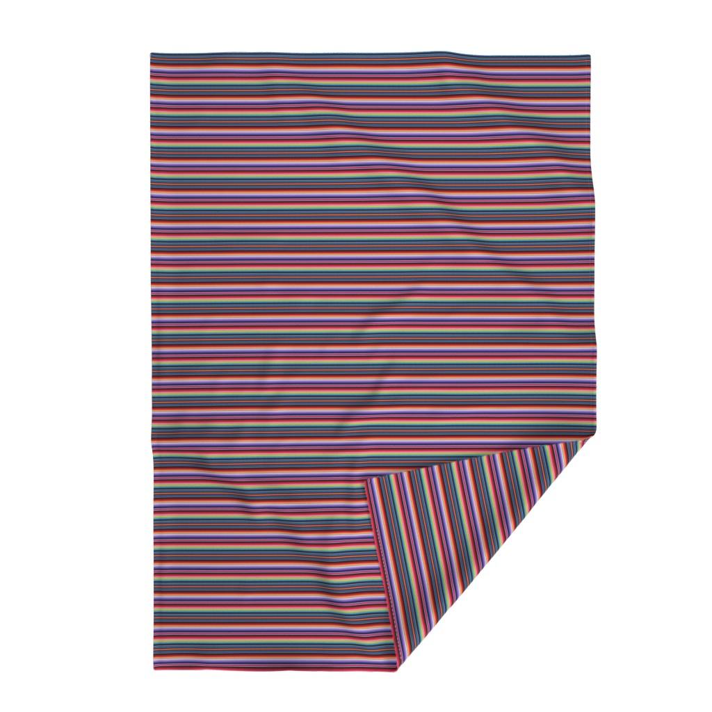 Lakenvelder Throw Blanket featuring Zia NM by sewingpatternbee