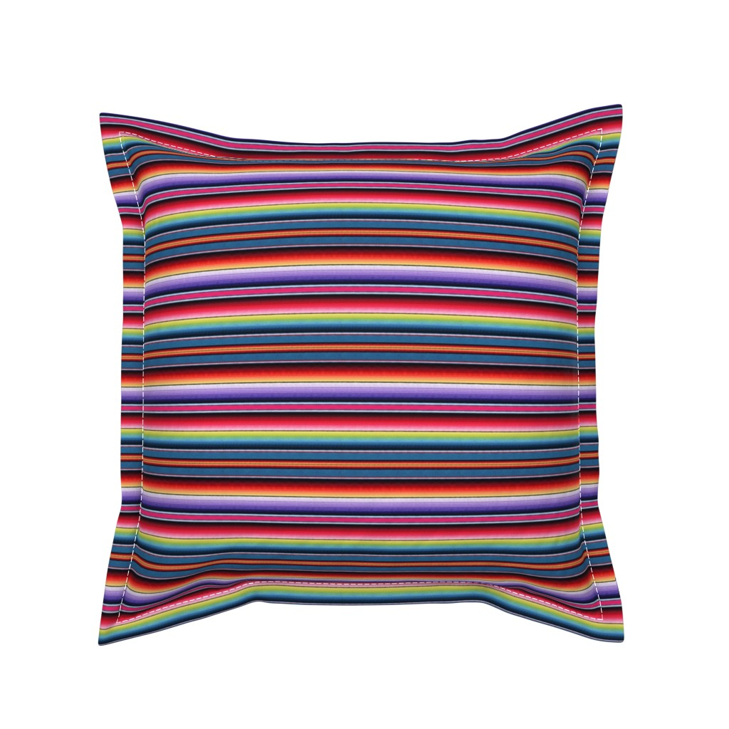 Serama Throw Pillow featuring Zia NM by sewingpatternbee