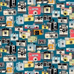 Make It Snappy! (Midnight Mini) || vintage camera illustrations analog photography film photo photographer