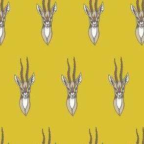 Citrine Gazelle Mount