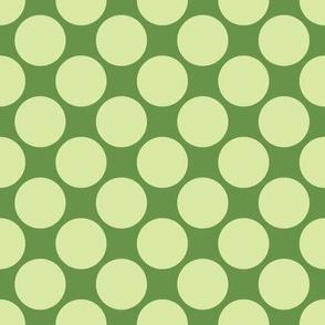 Circus Polk- Alphabet Party Green