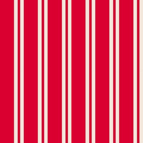 Red and Cream Stripes