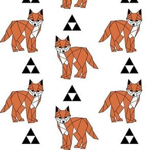 Geometric Fox with Triangles