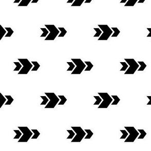 Arrow >> Geometric Mod Baby Nursery Kids >> White and Black