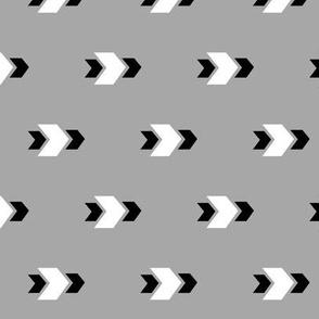 Arrow >> Geometric Mod Baby Nursery Kids >> Black, White, and Grey