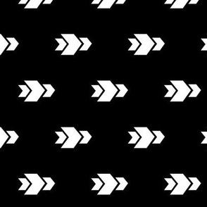Arrow >> Geometric Mod Baby Nursery Kids >> Black and White