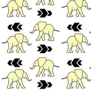 Yellow Elephants