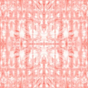 Rose Quartz Shibori - Vertical Folds