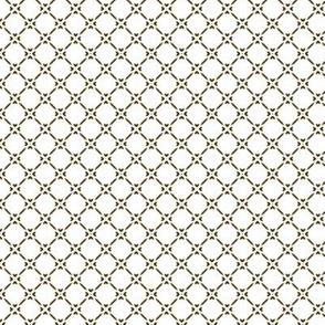 Rococo Lattice - Large white