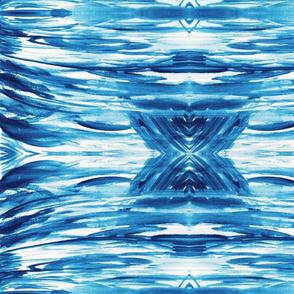 Shibori watercolor