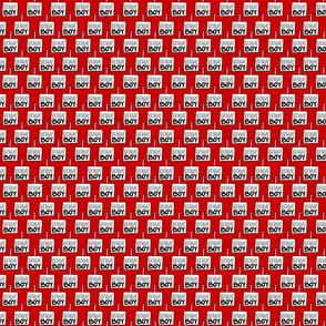 Birthday Boy Red - Small