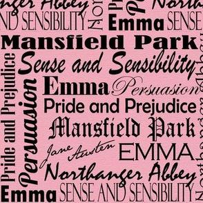 Danita's Favorite Books ~ Pink