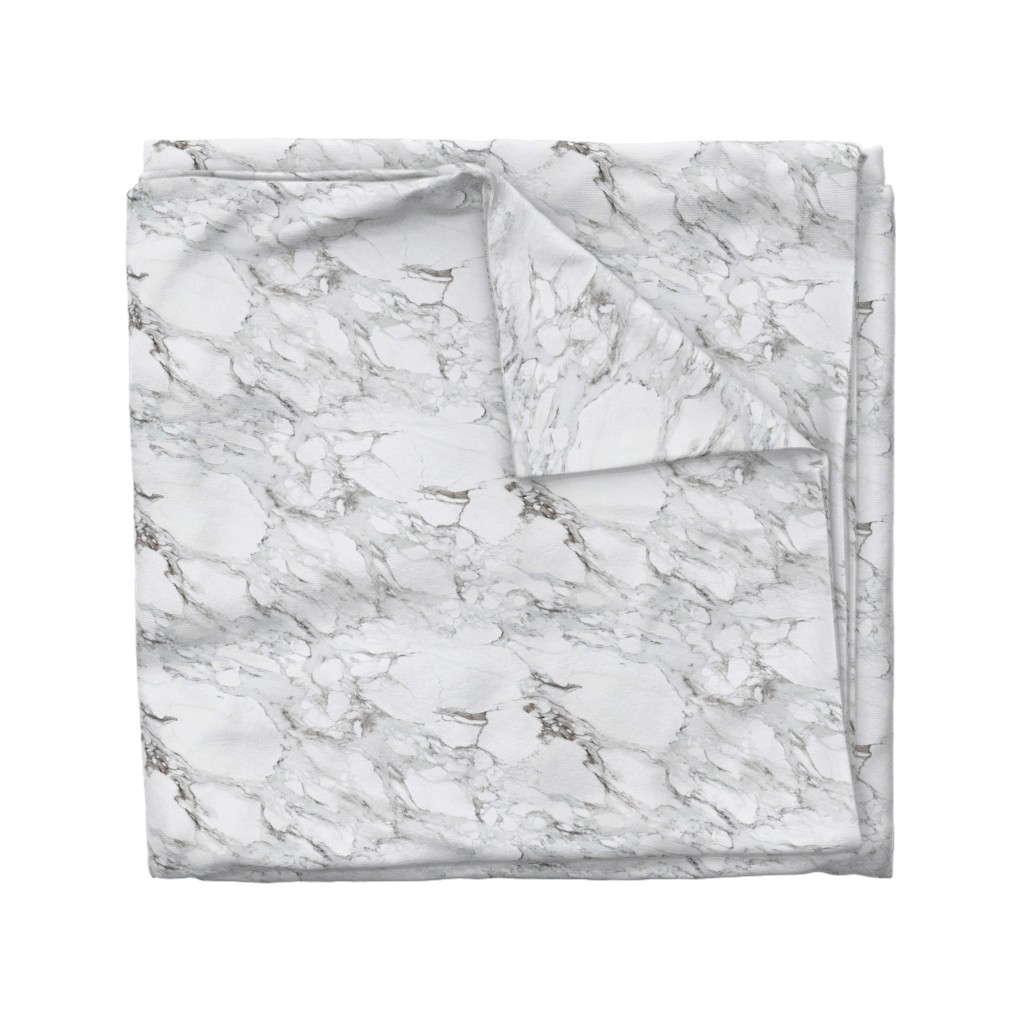Wyandotte Duvet Cover featuring Carrera Marble by willowlanetextiles