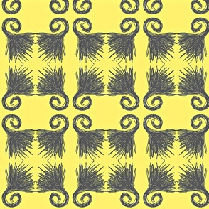 Four Fans/yellow