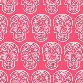 Sugar Skulls - Pink