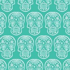 Sugar Skulls - Turquoise