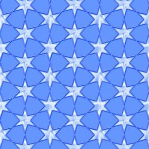 sky blue star